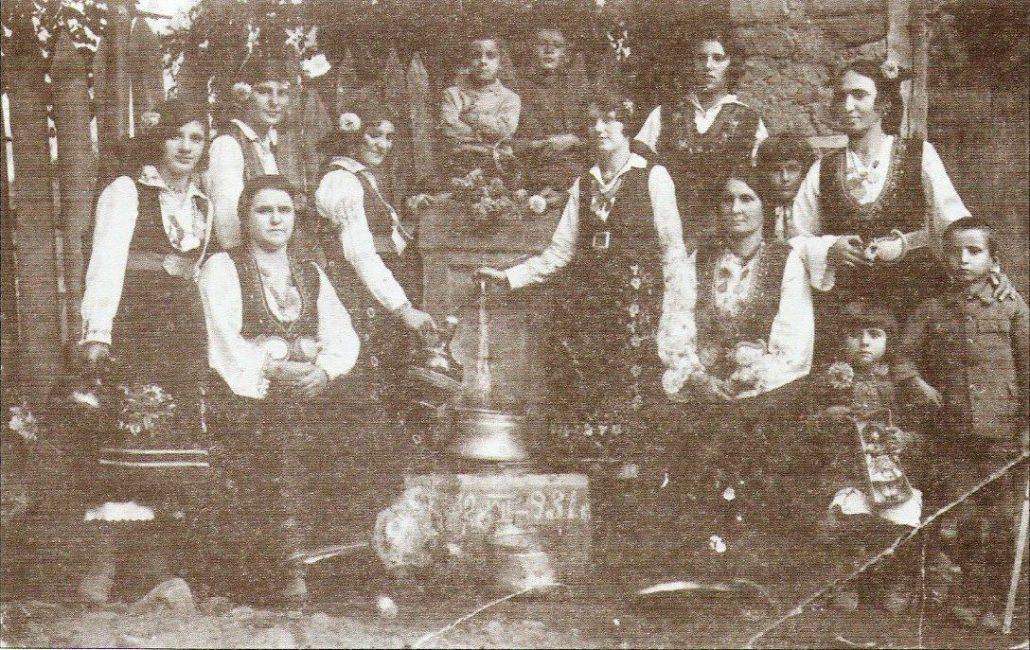 Етрополки в носии - 1931г.