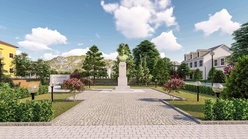 Концепция за монумента на генерал Павел Христов