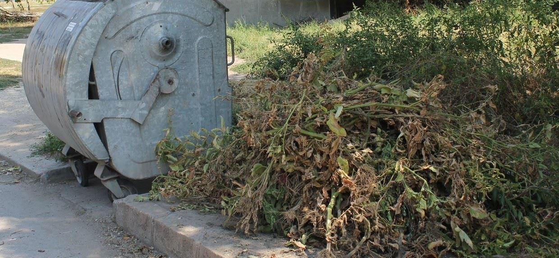 Етрополе - Извозване отпадъци